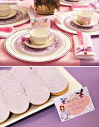 sofia inspired royal tea party birthday hostess