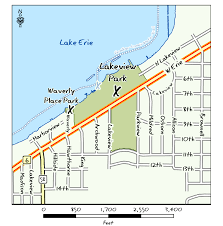 Map Of Sandusky Ohio by Odnr Coastal Lake Erie Public Access