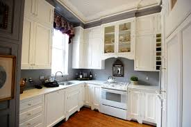 Red Kitchen Walls With White Cabinets Kitchen Room Modern Small Kitchen Wall Unit Walls White Cabinets