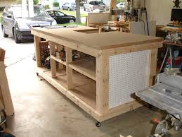 Woodworking Bench Plans Patterns by Backyard Workshop Ultimate Workbench