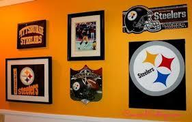 Steelers Bathroom Set Pittsburgh Steelers Football Themed Tv Room Hometalk