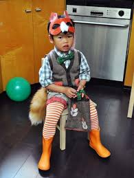 Sweet Fox Halloween Costume 62 Minute Diy Halloween Costumes Kids Brit