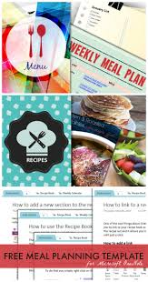 meal planning template for microsoft onenote microsoft meals