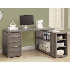 Computer Desk Glass Trade Me Hudson L Shaped Desk White Hayneedle
