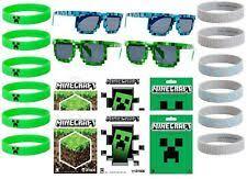 minecraft party favors minecraft party favors and bag fillers ebay