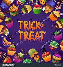 happy halloween card pumpkin cat bats stock vector 324111386