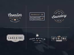 vintage logo kit vol 4 u2014 download free templates by pixelbuddha