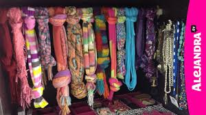 How To Organize Ideas Charming How To Organize Scarves 58 For Your Home Decoration Ideas