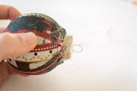 diy fabric scrap ornament it in the mountains