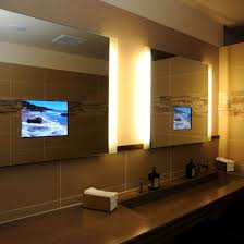 One Way Mirror Bathroom by Flat Screen Tv Mirror One Way Bathroom Film To Tv In Bathroom