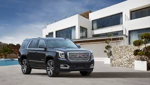 2018 gmc yukon denali gets a sculpted new grille autoblog