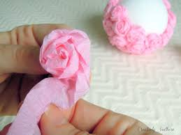 crepe paper flowers crepe paper flowers craft idea crepe paper flower and craft