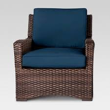 Patio Club Chair Halsted Wicker Patio Club Chair Threshold Target
