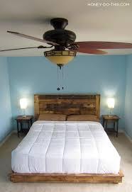Pallet Bed Frame Plans Base Para Colcha Cama Bed Pallet Palet Cabecero Diy