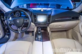 maserati levante interior 2016 maserati levante previewed in malaysia price begins from