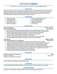 Creative Engineering Resume Examples Of Engineering Resumes Jospar