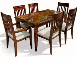 Country Dining Room Tables by Kitchen Cabinets Country Style Dining Room Wooden Table With