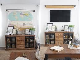 meuble tv caché la fabrique à déco déco et technologie des idées pour camoufler