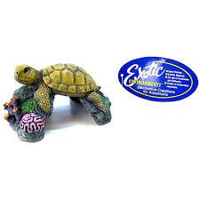 blue ribbon pet products blue ribbon sea turtle ornament aquarium