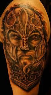 portrait of a viking tattoo ideas tattoo designs
