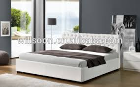 Latest Bed Designs Latest Bed Design With Button Double King Size Gas Lift Storage Pu
