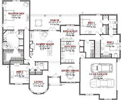 4 bedroom house plans one story simple 4 bedroom floor plans 4 bedroom 1 floor house plans simple