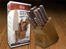 xx kitchen knives xx usa made 9 kitchen cutlery knife set block 10249