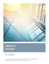 annual report word template annual report with cover photo timeless design scribe