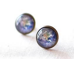 earrings world earth earrings etsy