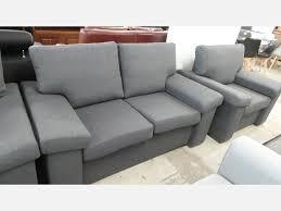canap portland canapé 2 places udin en tissu gris portland 95 meubles salon