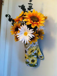 sunflower kitchen decorating ideas idea probably wouldn t do sunflowers but you can always make