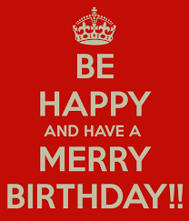 be happy and a merry birthday poster jerome keep calm o