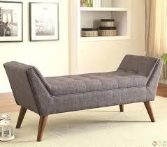 baxton studio watson upholstered modern tufted bench modern tufted