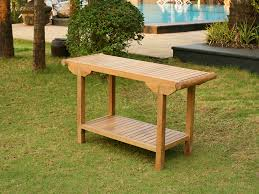 Outdoor Table Ls Jakarta Teak Console Table Atlanta Outdoor Furniture