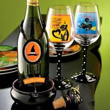 pretty wicked glassware design halloween gift ideas inspiration