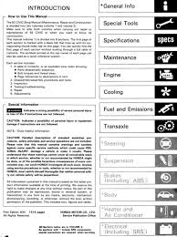 honda civic workshop manuals 1991 1995 1 pdf