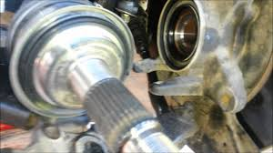 cv joint toyota prado 90 series youtube