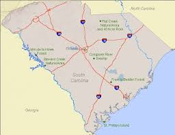 carolina world map national landmarks by state national landmarks