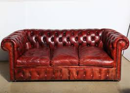 mahogany red leather chesterfield sleeper sofa 3 seats advice