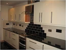 Black Gloss Kitchen Ideas Black Gloss Kitchen Tiles Rigoro Us