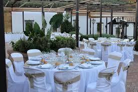 Wedding Table Set Up Huerta Nazari Awol Granada