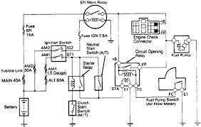 toyota 4runner fuel pump wiring harness diagram image details