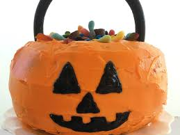 make a halloween cake clone of how to make a pumpkin shaped cake myrecipes