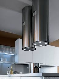 designer kitchen hoods remarkable a contemporary two tone kitchen under loft hoods