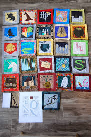 tutorial paper piecing harry potter quilt free patterns from