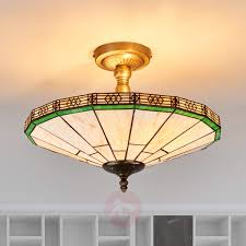 classic tiffany style ceiling light fixture new lighting