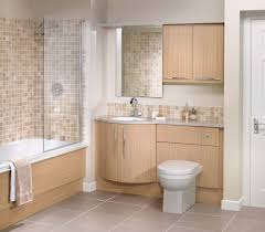 Oak Bathroom Cabinet Fitted Bathroom Furniture Ideas Toilet Units Fitted Bathroom
