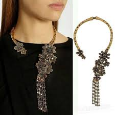antique jewelry necklace images Wholesale the new hot woman necklace chain big brands retro jpg