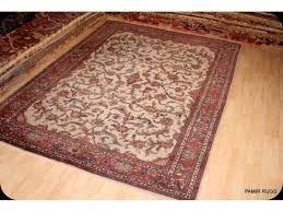 Rug 12 X 14 9 U0027 X 12 U0027 Traditional Persian Beige Background Hand Made Woven Rug