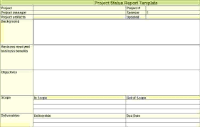 project weekly status report template excel weekly status report template status reports templates weekly